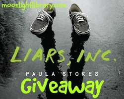 2 Signed Copies of Liars, INC. by Paula Stokes. 2 Mini Swag Packs. Includes (2 Signed Bookmarks, 1 Magnet, 1 Signed Bookplate).