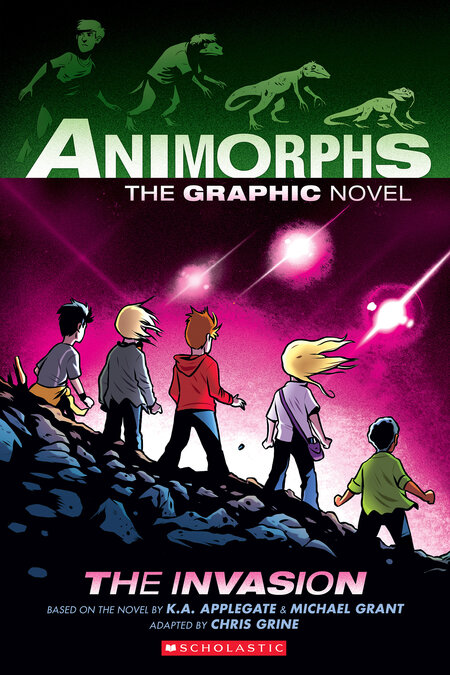 The Invasion (Animorphs Graphix #1) by K.A. Applegate, Michael Grant, Chris Grine